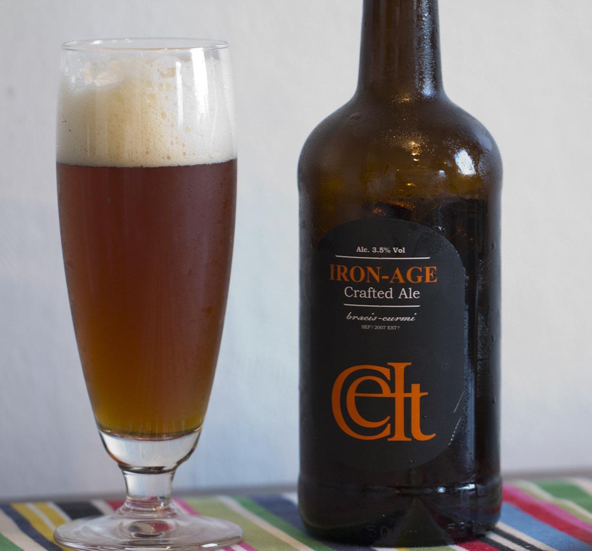 Iron-Age öl från Wales