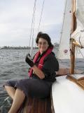 Kristina Svensson i Cardiff Bay