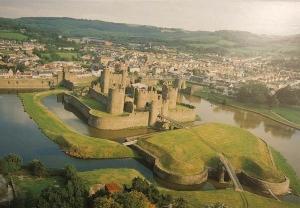caerfilly-castle-vykort