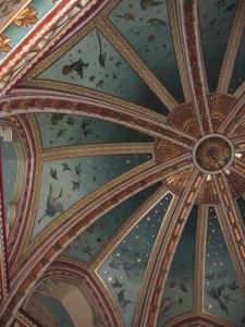 Castell Coch interiör