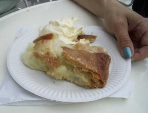 Smarrig äppelkaka