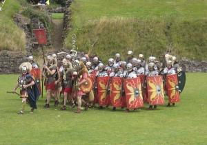 Romerska legionärer