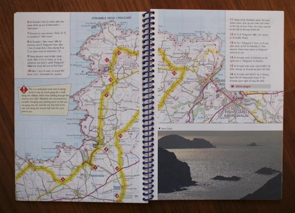 uppslag i Cycle Tours South Wales