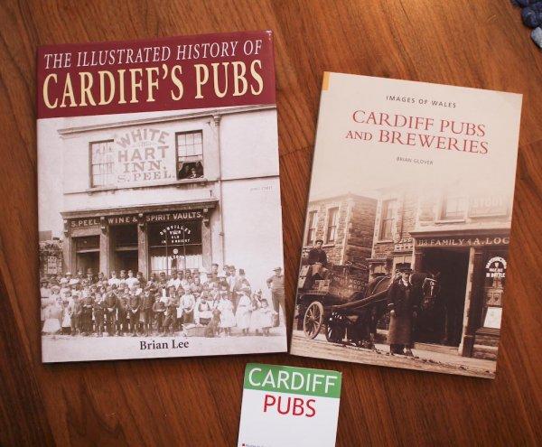 böcker om pubar i Cardiff