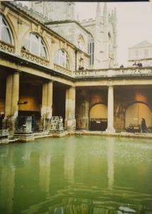 Romerska baden i Bath