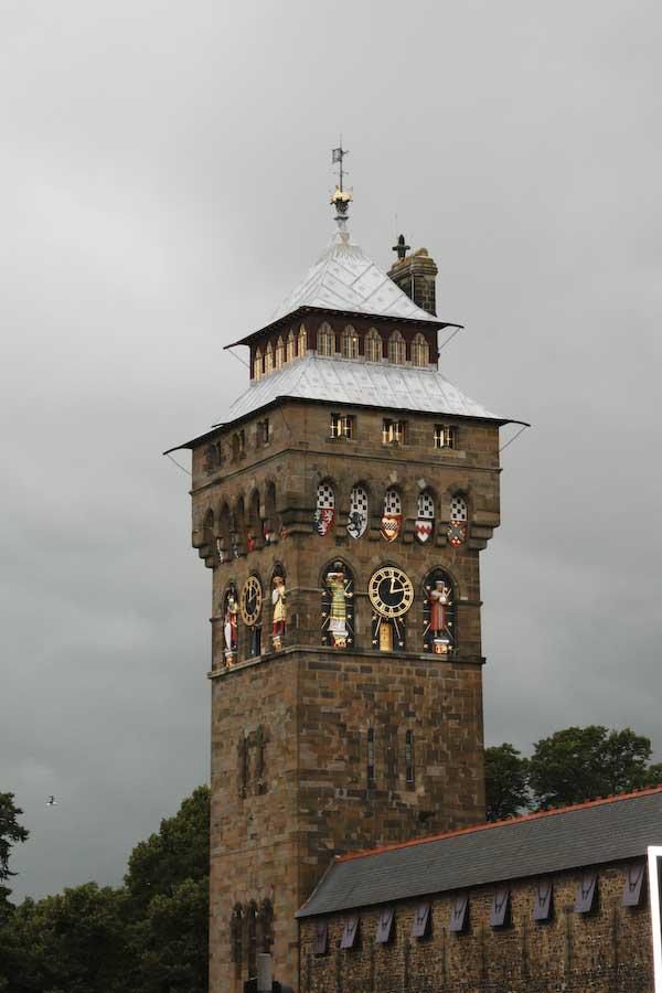 Cardiff slott tornet