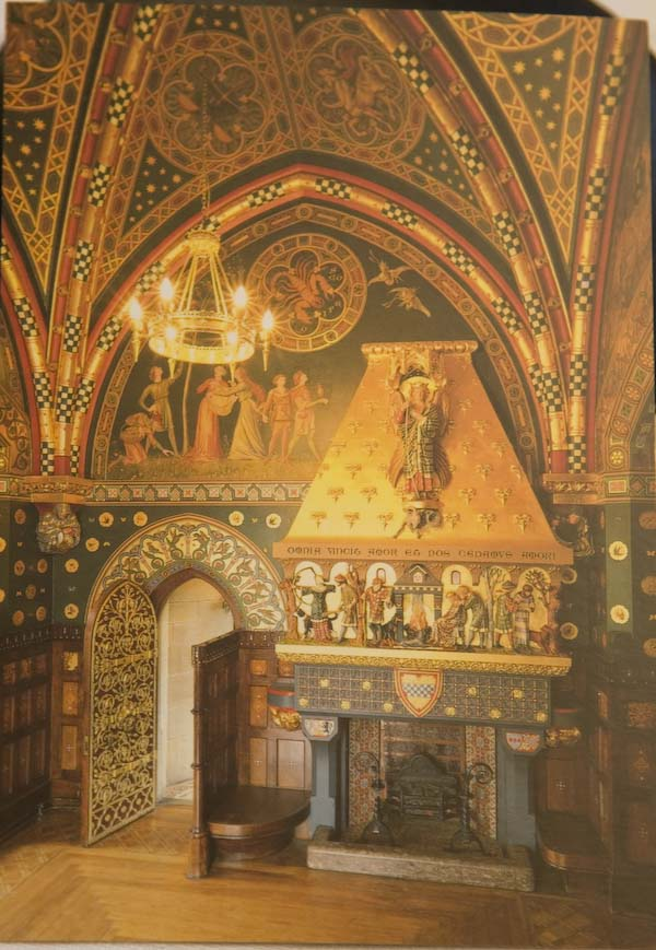 Cardiff slott interiör