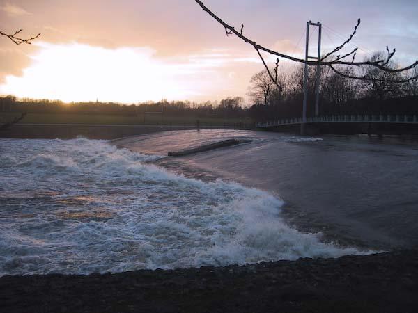 Floden Taff